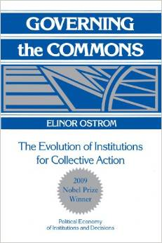 【Cambridge university press】Governing the commons: The evolution of institutions for collective ...